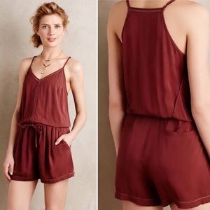 Anthropologie Lilka Nelisa romper sz Large